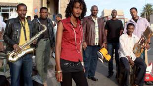 The Asmara All Stars, with young singer Sara Teklesenbet