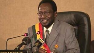 Dioncounda Traoré, président de l'Assemblée nationale du Mali.
