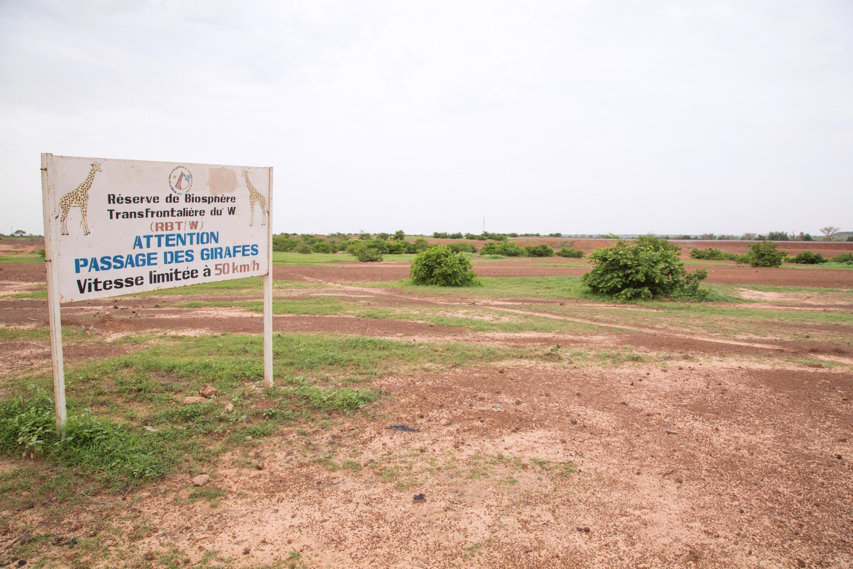 Une vue de la réserve animale de Kouré où s'est déroulée l'attaque contre les six humanitaires Français et leurs deux guides nigériens.