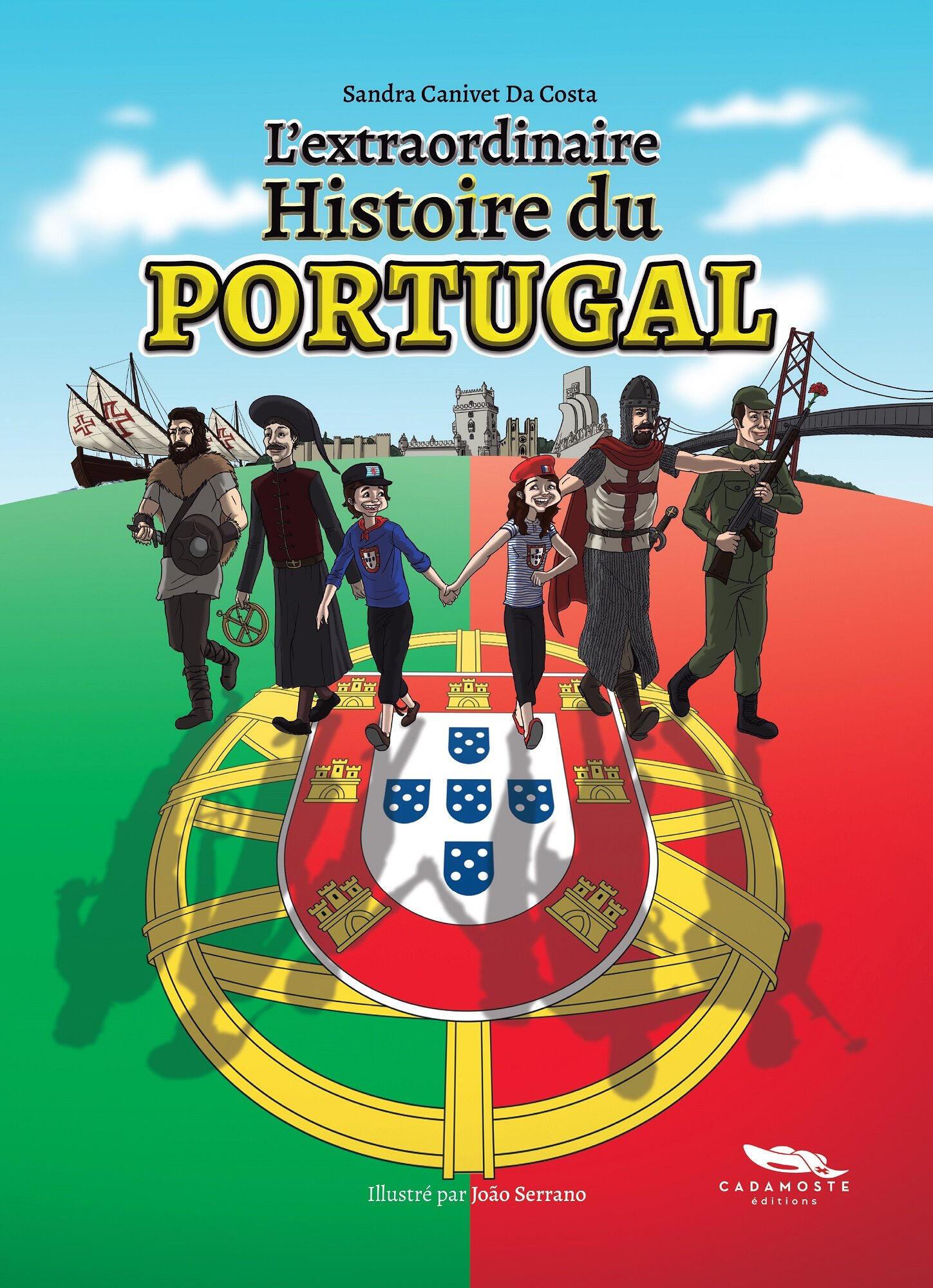 Livro sobre a Extraordinária História de Portugal.