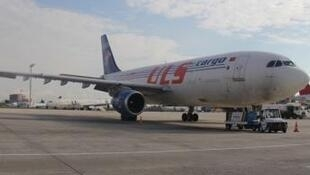 Avião da companhia ULS cargo.