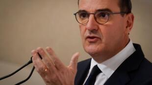 Selon le gouvernement, «on n'est pas dans la situation du 17 juillet où on espérait avoir tous la crise sanitaire derrière nous». Ici, le premier ministre Jean Castex à Paris, le 22 octobre 2020.