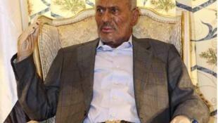 Ali Abdullah Saleh in Riyadh in July