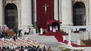 Missa inaugural do ponticficado do Papa Francisco, 19 de março de 2013