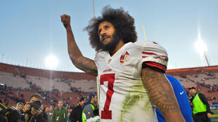 L'ancien «quaterback» des San Francisco 49ers, Colin Kaepernick, est devenu une figure de la contestation des afro-américains aux Etats-Unis.