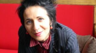 Marie-Rose Guarnieri, fondatrice de la Librairie des Abbesses à Paris.