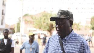 Antigo chefe da Armada da Guiné-Bissau, contra-almirante Bubo Na Tchuto