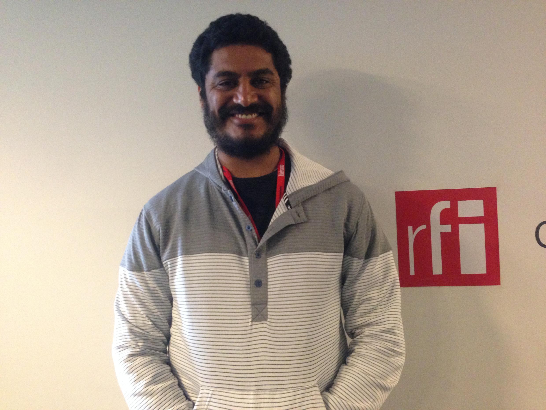 De passagem em Paris, Criolo concedeu uma entrevista nos estúdios da RFI.