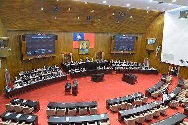 圖為台灣立法院會場