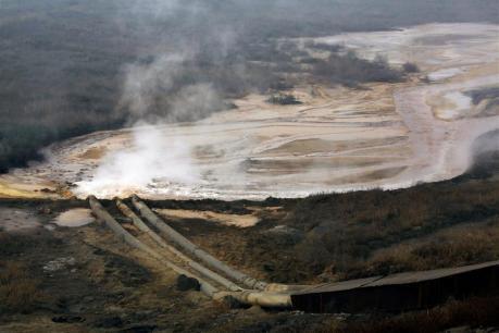 Extracción de tierras raras en Mongolia.