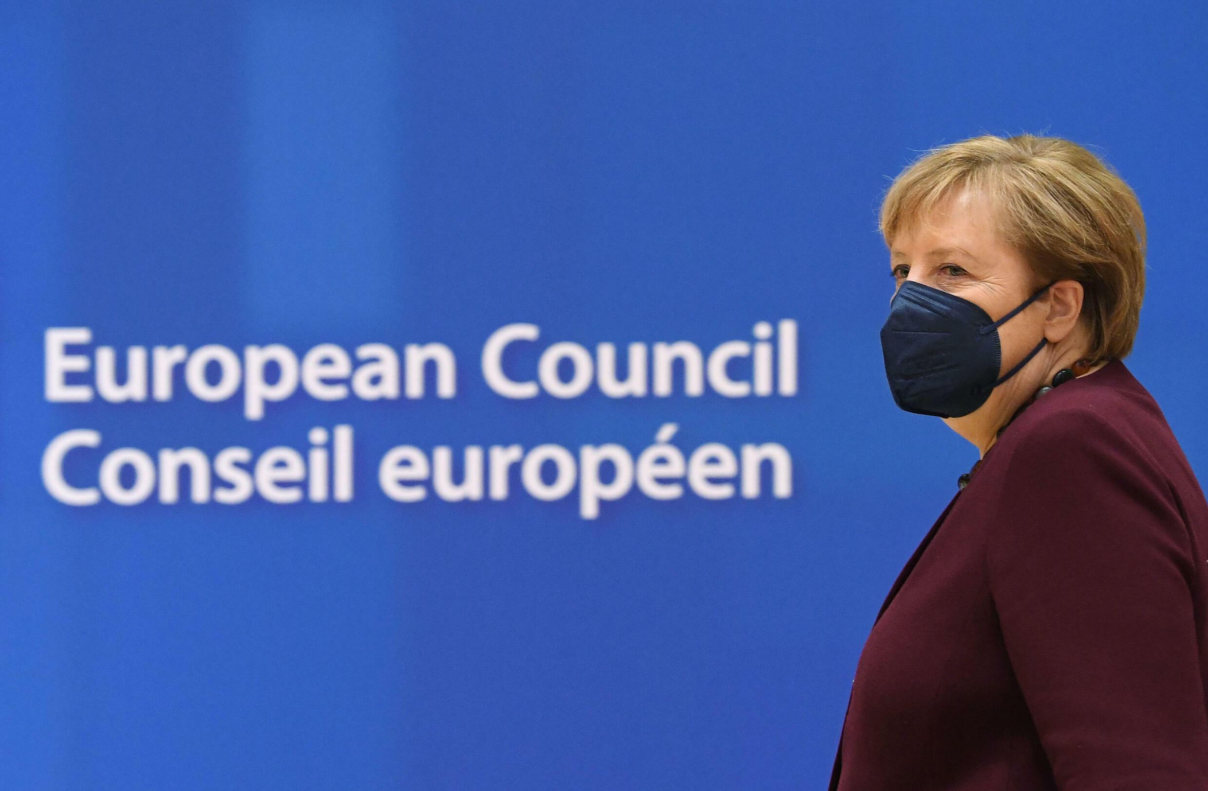 默克尔出席她的第107次欧盟峰会,即将告别政坛