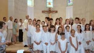 天主教兒童信徒第一次領聖體彌撒