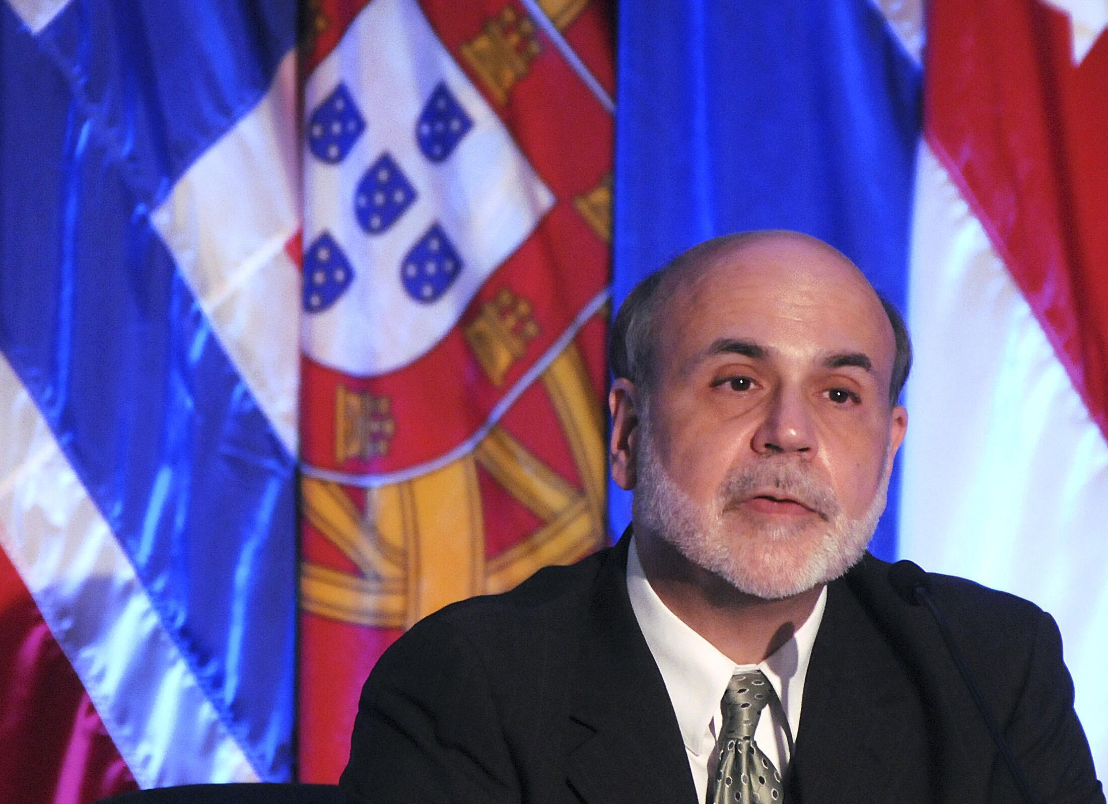 presidente do Federal Reserve (Fed), Ben Bernanke
