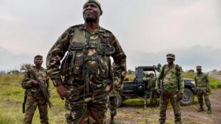 Wasu dakarun Sojan Rwanda.