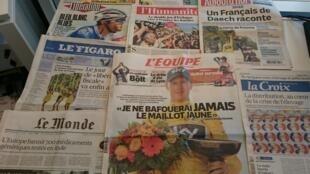 Diários franceses 27/07/2015