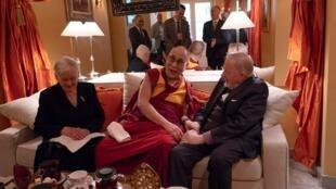 Visite de Dalai lama à Vilnius le 14.06.2018