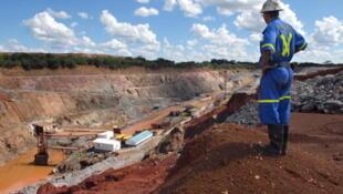 Une mine de cuivre à Chibuluma, près de Kitwe, en Zambie.