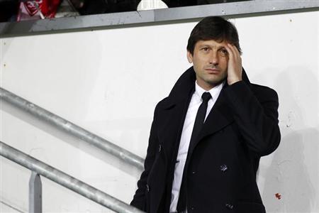 O brasileiro Leonardo, diretor técnico do Paris Saint-Germain, não compareceu nesta quarta-feira ao seu julgamento. Foto do 8 de maio de 2013