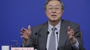 中國央行-中國人民銀行行長周小川2016年3月12日在人大記者會上