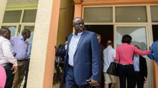 Antoine Kaburahé, le directeur du groupe de presse indépendant Iwacu, le 19 mai 2015 à Bujumbura.