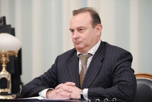 Vladimir Strzhalkovsky, proche de Vladimir Poutine, le 9 avril 2012.