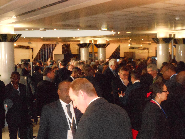 Fórum de Negócios África-França no dia 6 de Fevereiro de 2015 em Paris