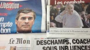 Primeiras páginas diários franceses 20/3/2013
