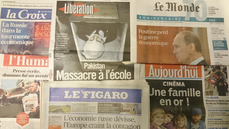 Primeiras páginas jornais 17/12/2014