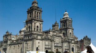 La Catedral metropolitana de la Ciudad de México, en una foto del 2 de noviembre de 2008.
