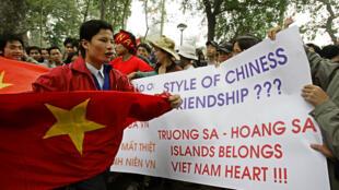 Vietnam - Chine - manifestation - Bien Dong - Mer de Chine méridionale