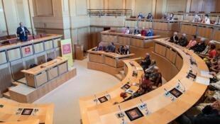 Conselho regional da região Occitanie, uma das que mais teve aumento de gastos depois da reforma.
