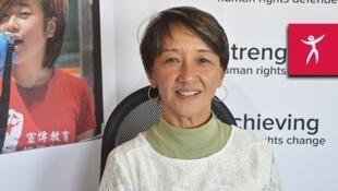 Rose Trajano, défenseure des droits de l'Homme aux Philippines.