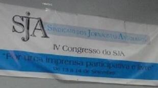 Sindicato de jornalistas angolanos apela a greve de 10 dias a partir de 29 de julho em Angola