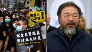 艾未未的紀錄片《蟑螂》記錄了2019年香港反修例運動