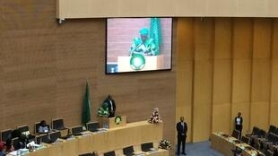Nkosazana Dlamini-Zuma gives welcome remarks at 30th Ordinary Session of the Executive Council of the AU