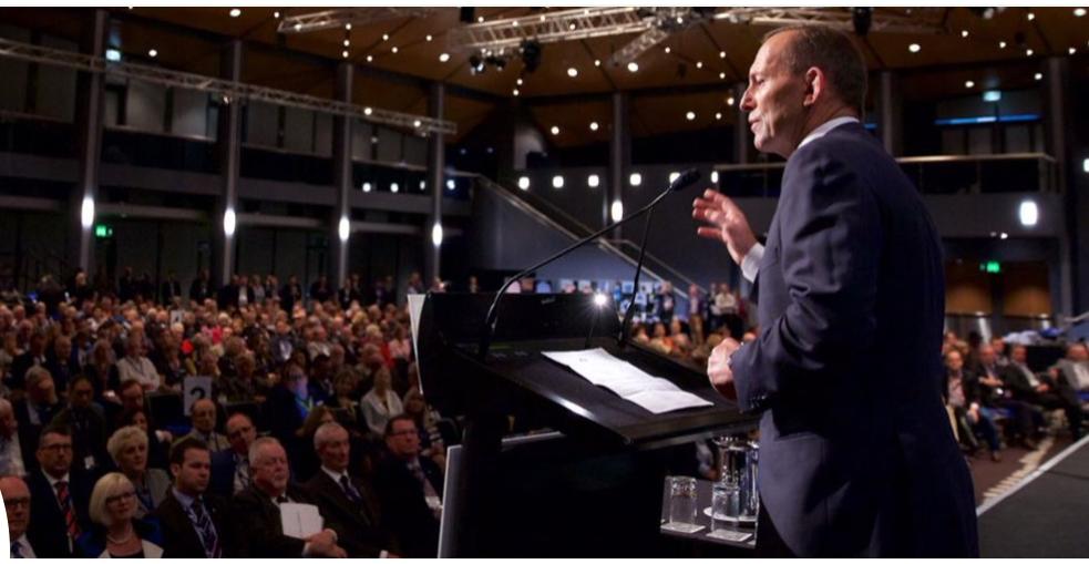 澳大利亞前總理托尼-阿博特(資料圖片)