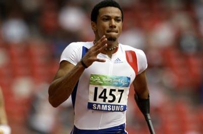 Paralympian hopeful, Arnaud Assoumani