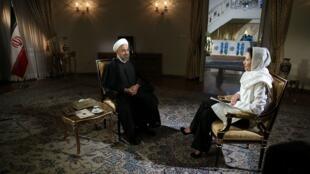 """حسن روحانی- رییس جمهوری ایلامی ایران، در گفت و گو با شبکه تلویزیونی """"ان بی سی"""" آمریکا"""
