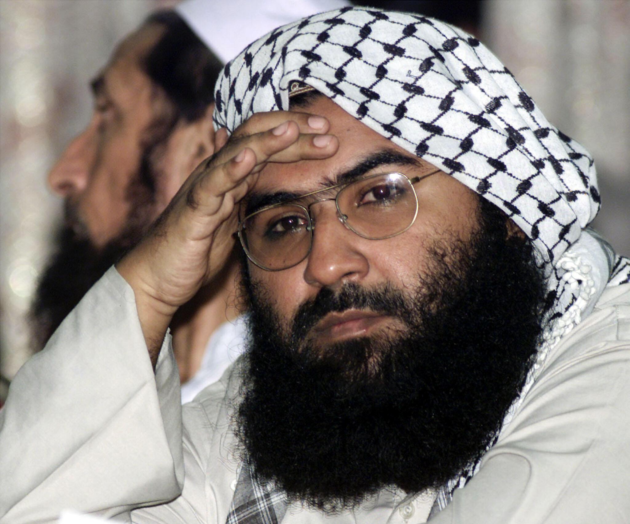 巴基斯坦伊斯蘭組織穆罕默德軍首腦馬蘇德·阿資哈爾(Masood Azhar),2001年8月。