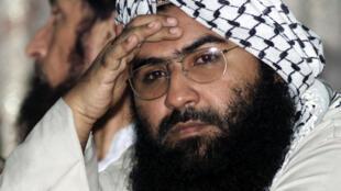 Masood Azhar, chef du groupe Jaish-e-Mohammad (JeM), ici photographié en août 2001.