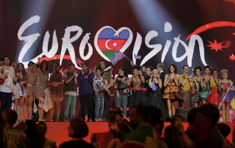 El concurso Eurovisión 2012 en Bakú, Azerbaiyán.