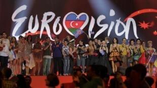 Победители полуфинала Евровидения. Баку 22/05/2012