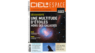 Couverture du Ciel et Espace du mois de février 2015.