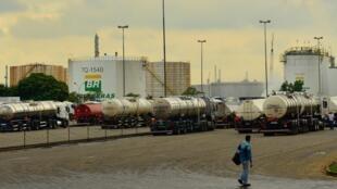 A Replan, refinaria da Petrobras em Paulínia.