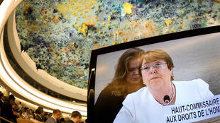 UN rights council High Commissioner Michelle Bachelet, 10 Septembre 2018 in Geneva.