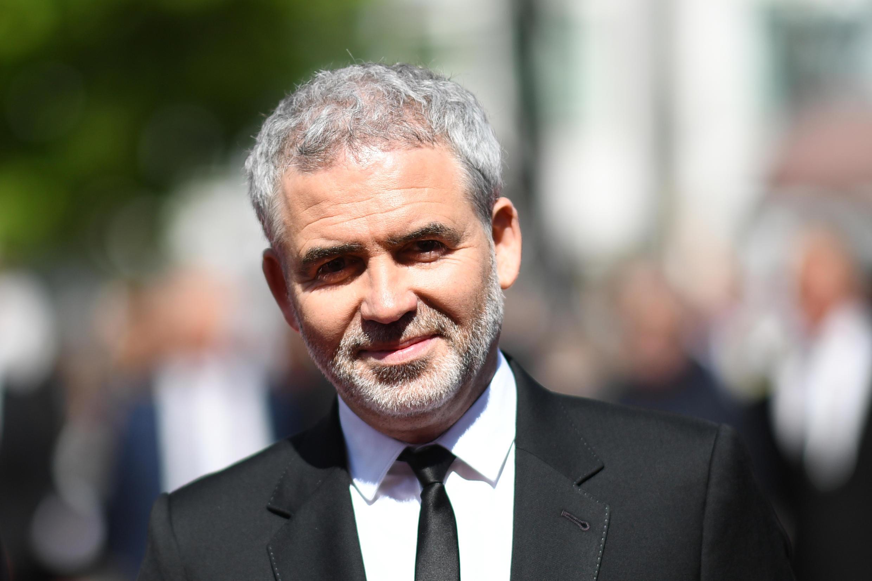 Le réalisateur français Stéphane Brizé sur le tapis rouge de Cannes, le 15 mai 2018.