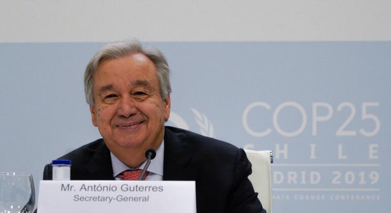 聯合國秘書長古特雷斯。