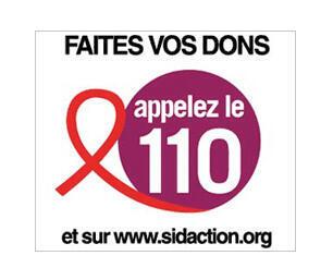 Chiến dịch gây gũy tài trợ việc phòng chống bệnh Aids © Sidaction.org