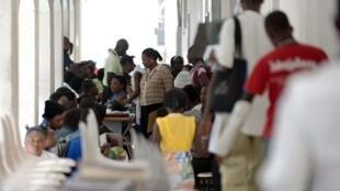 L'hôpital général de Port-au-Prince.