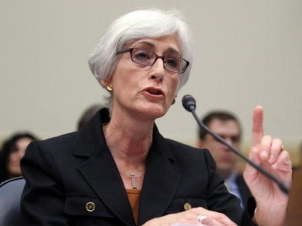 Wendy Sherman معاون وزارت امور خارجه آمریکا